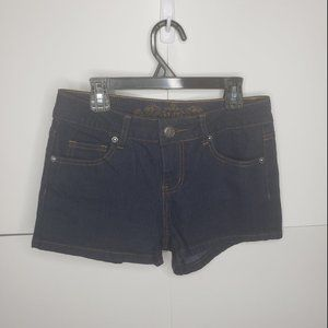 Wax Jean Dark Wash Shorts Size Small